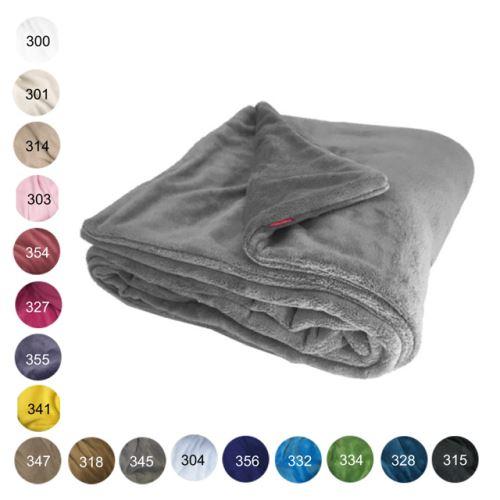 Aesthetic Deka zimní oboustranná - 100x150cm - mix barev Barva: 318 - medová
