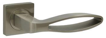 Dveřní dělené rozetové kování FREMO -QR Klika štít hranatý
