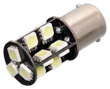 Compass Žárovka 19 SMD LED 12V Ba15S s rezistorem CAN-BUS ready bílá 33806