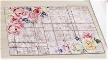 VERATEX Koberec - běhoun 80x120cm růže