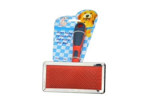 Kartáč na vyčesávání psí srsti (15x11,5cm) - 8592548200575