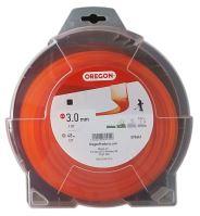 Oregon Žací struna 3,0 mm x 48 m - ORANŽOVÁ ČTVEREC (593661)