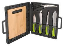 Cattara Grilovací nože sada 4+1+1 13110