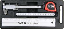 Yato Vložka do zásuvky - sada měřidel 5ks YT-55474