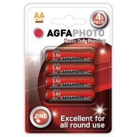 Baterie zinková AA AGFAPHOTO, blistr 4ks 14902