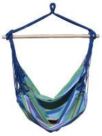 DIMENZA a.s. Závěsná houpačka BRASIL Barva: modrá s pruhy - DF-003014
