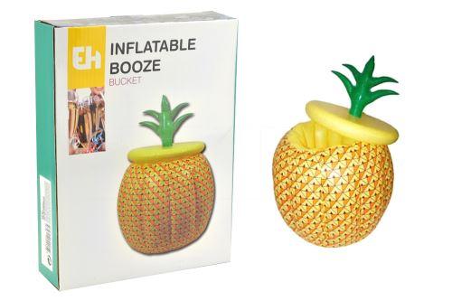 Nafukovací chladič na nápoje EH - Ananas (25x33cm) - 8719202917475