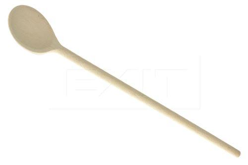 Dřevěná kulatá vařečka (35cm) - 5907595742993