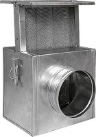 HS Flamingo - Filtr k ventilátoru / do rozvodů teplého vzduchu 160 mm HSF18-021