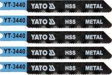 Yato List pilový do přímočaré pily 70 mm na kov TPI21 5 ks YT-3440