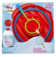 Tm hračky pro bubliny velké obruč + kapalina 0,5 l