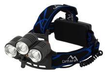 Cattara Čelovka LED 400lm (1x XM-L+2x XP-E) 13125