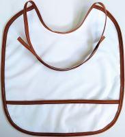 VERATEX Jersey slinták s kapsou Nepropustný 30x31cm bílý