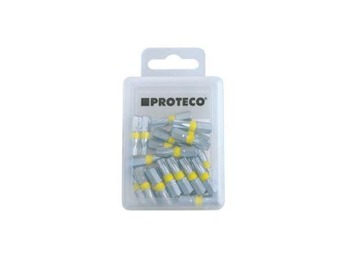 "PROTECO - 42.09-181-T-15 - bity 1/4"" TORX 15 25 mm box 25 ks PROFI"