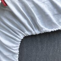 Aesthetic Prostěradlo 100% len - do dětské postýlky - 60x120 cm - mix barev TYP: khaki