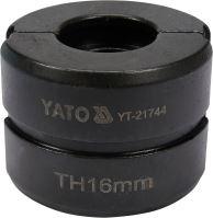 Náhradní čelisti k lisovacím kleštím YT-21735 typ TH 16mm YT-21744