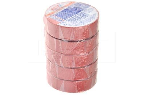Elektrikářská páska 0.15x15mm / 5m - Červená 1 ks - 4042448434425
