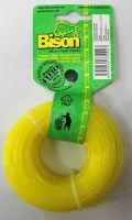 Bison BASIC PROFI (žlutá)- kruhový profil 2,4mm 100m (061)