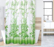 VERATEX Koupelnový závěs 180x200 cm zelená tráva