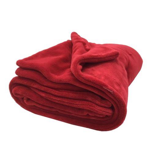 Aesthetic Deka zimní oboustranná - 72x100 cm Barva: 307 - červená