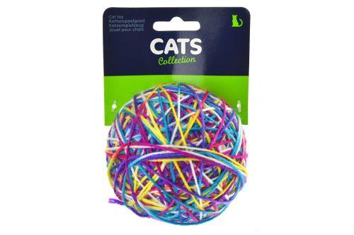 Hračka pro kočky - Klubko s rolničkou (9cm) - 8719202827859