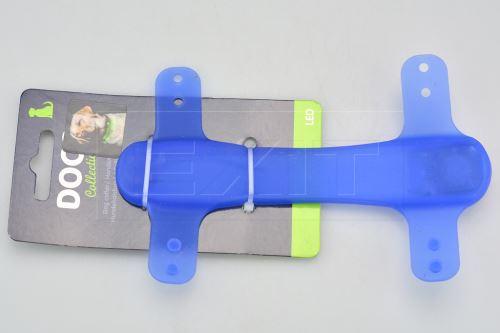 Silikonové LED světlo na obojek DOGS (15cm)