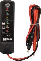 Yato Tester autobaterií LED YT-83101