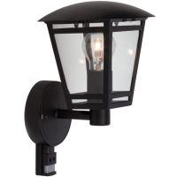Ecolite Venkovní svítidlo Z1503S-CR Venkovní svítidlo LAURA s PIR senzorem, E2