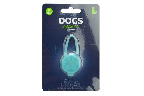 Bezpečnostní LED osvětlení na obojek DOGS (3x6cm)