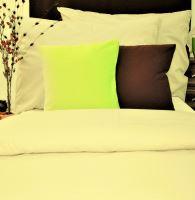 VERATEX Přehoz na postel bavlna140x200 smetanový