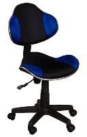 FALCO Židle QZY-G2 černo-modrá - 1313010602