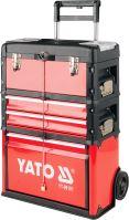 Yato Vozík na nářadí 3 sekce, 2 zásuvky YT-09101
