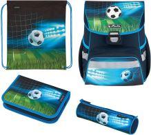 Herlitz smyčka školní taška plus fotbalové fotbalové doplňky 4v1