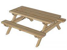 zahradní stůl LANITPLAST GARDEN3 (SG907)