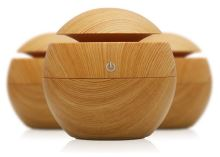 Hütermann Y01 aroma difuzér 130ml světlé dřevo - ultrazvukový, USB