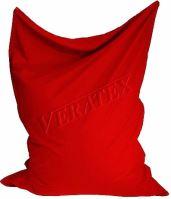 VERATEX Sedací vak/pytel Klasik 120 x 160 x 25cm (červený)