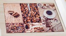 VERATEX Koberec - běhoun 80x120cm kávová zrnka