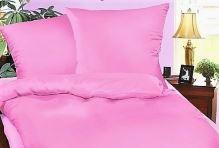 VERATEX Krepové povlečení  70x90, 140x200 cm (růžové)