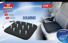 Compass Podsedák s ventilací USB 5V 44x42cm 04084