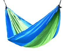 Cattara Houpací síť NYLON 275x137cm zeleno-modrá 13566