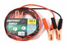 Green Startovací kabely 700A  2,5m zipper bag 01124