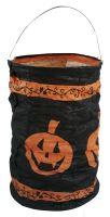 Lampion Halloween - dýně čajová svíčka 15 cm (8590687148338)